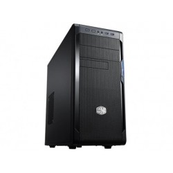PC korpusas be PSU Cooler Master N300 (KKN1), Midi Tower, USB3, Juodas