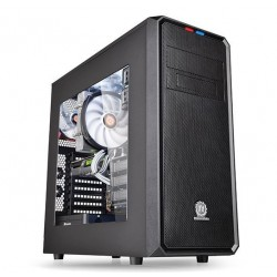 THERMALTAKE Versa H35 with window Midi Tower Case i/O ports 2xUSB 3.0 1x HD Audio fully modular concept LCS compatible