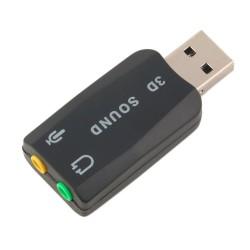 Mikrofono garsiakalbio  adapteris USB 2.0 į 3D