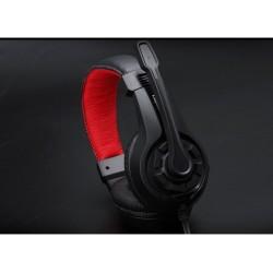 Žaidimų ausinės su mikrofonu 3,5MM lizdas Stereo Heavy Bass
